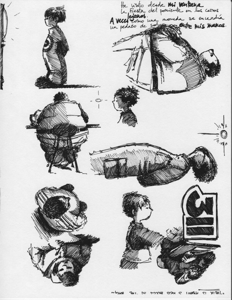 Doodles during HSPAs