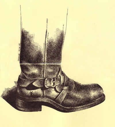 New Frye Boot with Photoshop