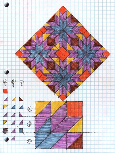 Quilting pattern #1