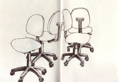 Chairs in lab