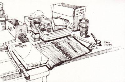 Desk in B226