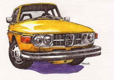 Marc's 1974 Saab 99