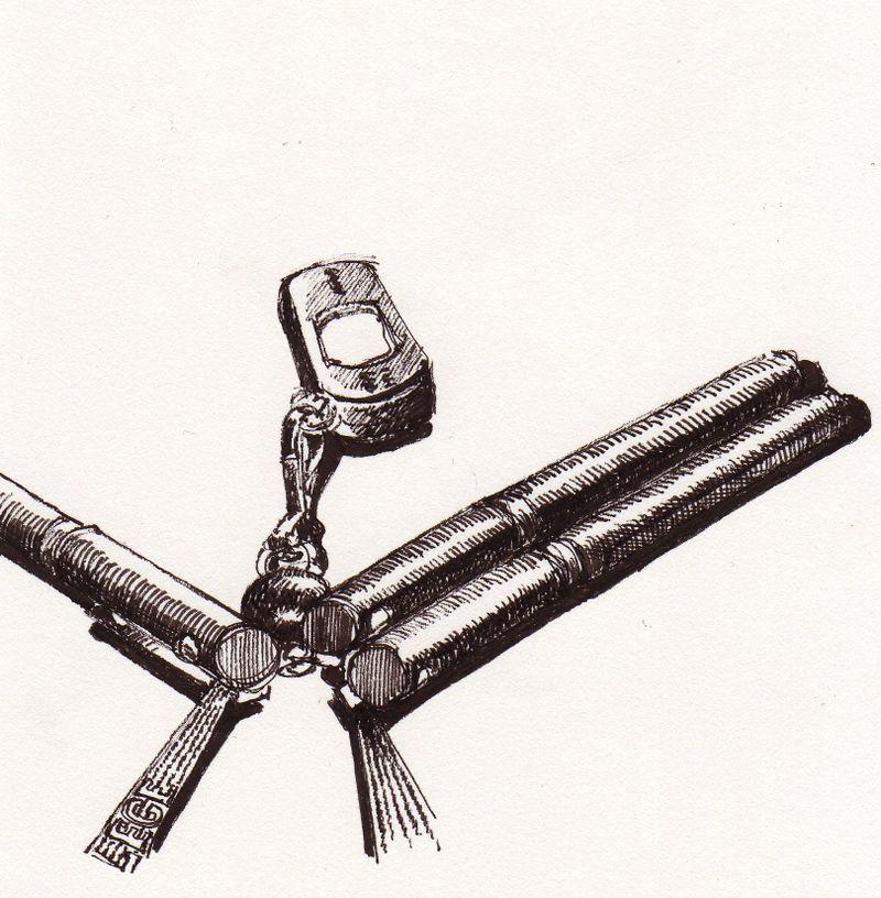USB key and three pens
