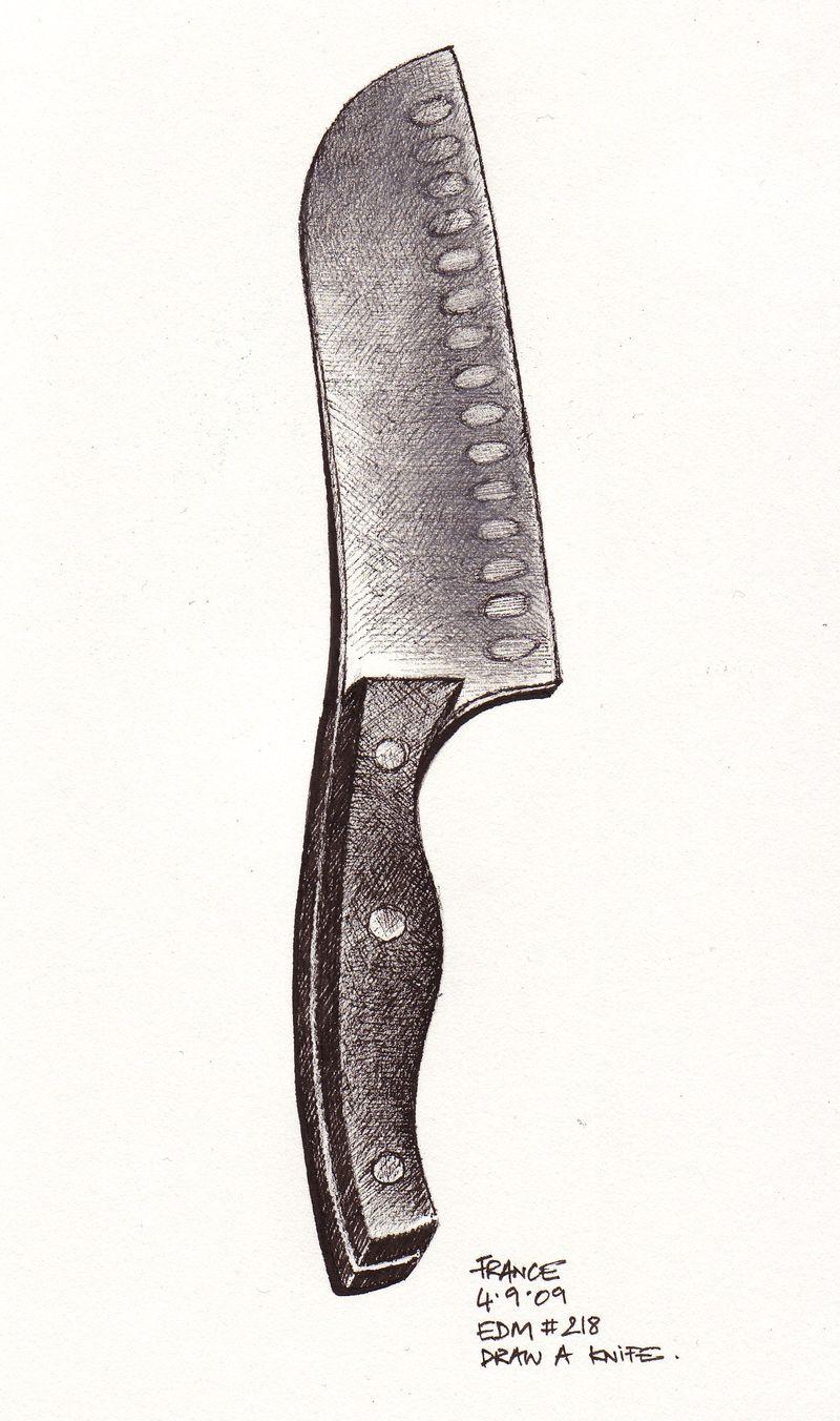 EDM #218 a knife