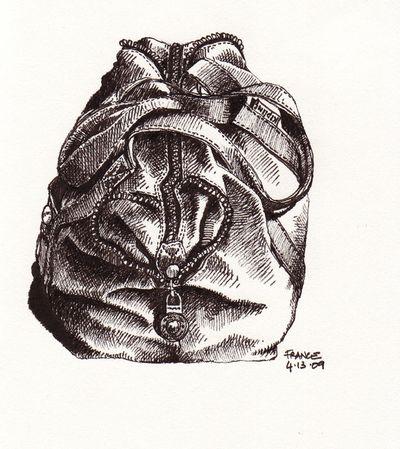 Kipling bag ready to go