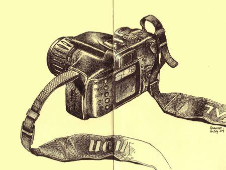 Canon in Nora's Moleskine
