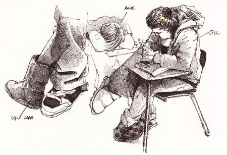 HSPA Testings doodles