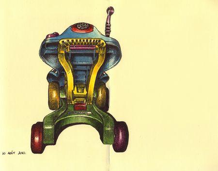 Chariot de Nora Moleskine