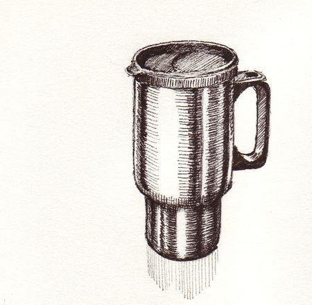 Mug in faculty lounge