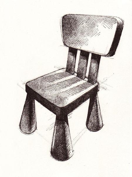 Lil Ikea chair