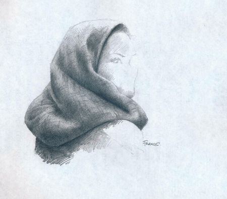 Chaperon rouge with HB pencil lower res