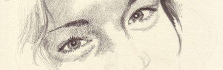 Beckey's eyes -- closer