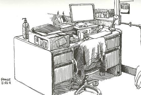 Desk in B311