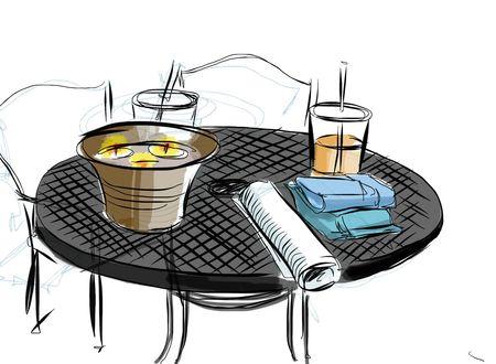 The Table Outside