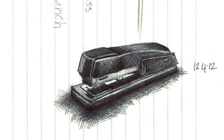 Stapler for blog