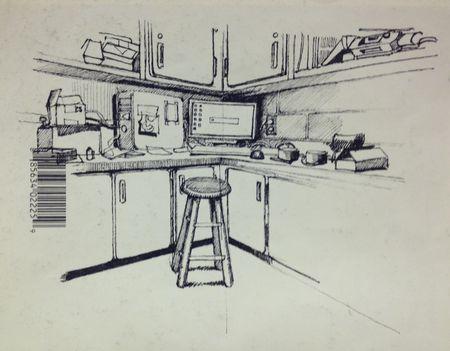 Salle de Tom sur cahier de Pénélope page #0