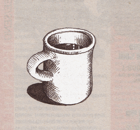 Coffee Mugs Drawing But Here is a Quick Mug Drawn