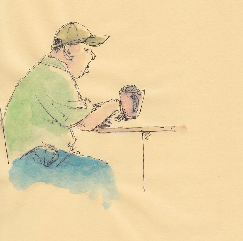 2mn sketch at the diner