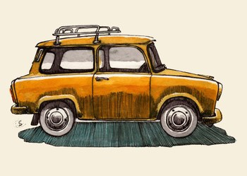 Yellow_trabant_with_roof_rack_3