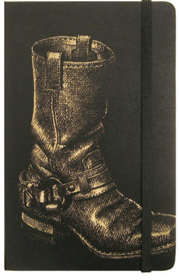 Boot_on_moleskine_by_modofly