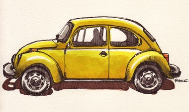 Vw_superbeetle_yellow_profile